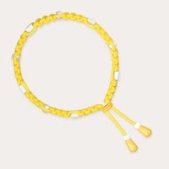 Anti Zeckenband für Hunde in sonnig leuchtendem Gelb