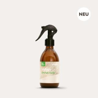 Velvey Cat EM Fell-Tonic braune 250ml Sprühflasche aus Glas mit Fell Etikett